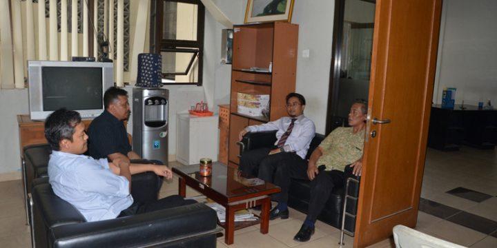 Penjajakan kerjasama dengan FSD UPI Bandung